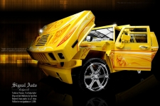Hummer Lowrider Version -2004-