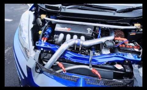Black Engine – Honda Jazz Signal Kustom Built