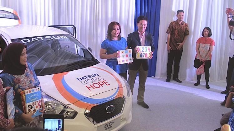 Pimpinan Datsun Indonesia dan Yayasan 1001 Buku